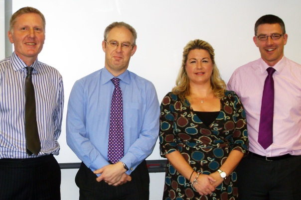 Benson Group Team: Mike Owens, Colin Kunz, Louise Webster, Jonathan Bostock