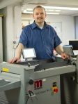 Ray Dickson, Print Unit Supervisor