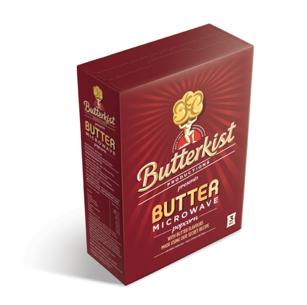 Butterkist Butter Microwave Carton